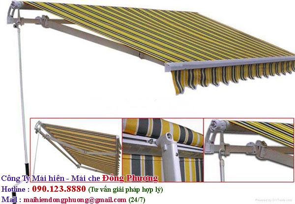 Công ty Đông Phương chuyên cung cấp mái hiên đẹp nhiều chất liệu mới